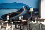 3D mountain highway wall mural wallpaper 146