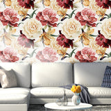 3D Rose Flowers Wall Mural Wallpaper 25