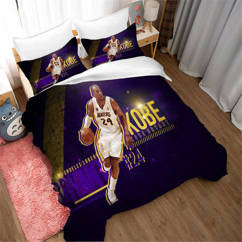 3D Basketball Star Quilt Cover Set Bedding Set Pillowcases 26
