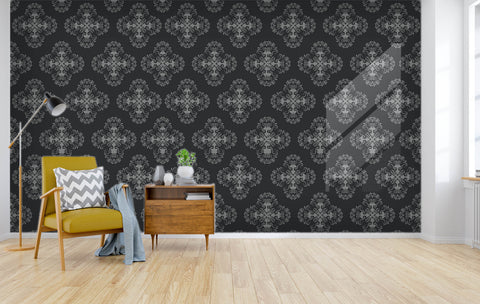 3D black white pattern wall mural wallpape 14