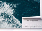 3D sea wave wall mural wallpaper 67