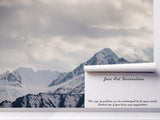 3D snow mountains wall mural wallpaper 70