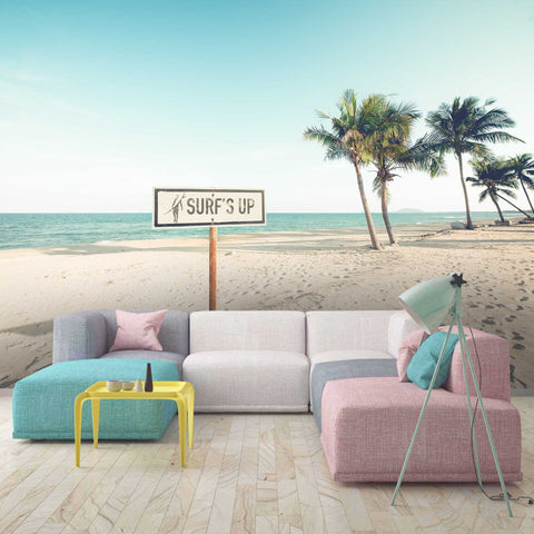 3D Tropical Beach Wall Mural Wallpaper 71