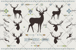 3D Arrow Elk Wall Mural Wallpaper SF03