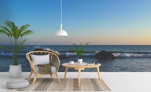 3D Blue Sky Sea Wall Mural Wallpaper 231