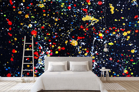 3D Abstract Colorful Graffiti Wall Mural Wallpaper 17