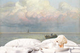 3D sea scene oil painting wall mural wallpaper 20