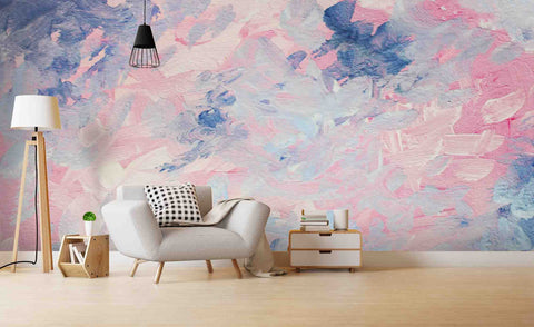 3D Abstract Oil Painting Wall Mural Wallpa 17