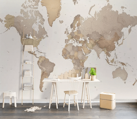 3D World Map 122 Wallpaper Jess Art Decoration 2