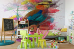 3D Colored Bird Wall Mural Wallpaper 135