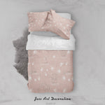 3D Pink Elephant Lion  Dandelion Quilt Cover Set Bedding Set Duvet Cover Pillowcases LXL 108