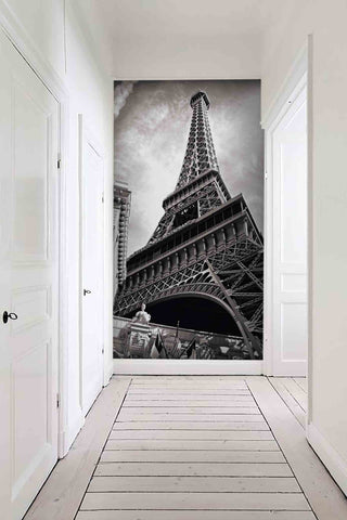 3D tower grey wall mural wallpaper 33