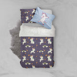 3D Unicorn Rainbow Quilt Cover Set Bedding Set Pillowcases 57