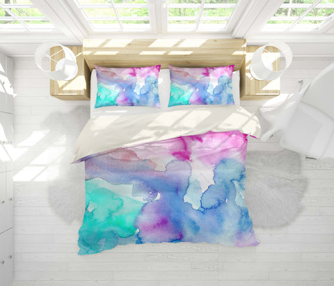 3D Colorful Dye Quilt Cover Set Bedding Set Pillowcases 84