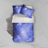 3D Purple Sky Quilt Cover Set Bedding Set Pillowcases 8