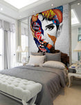 3D Abstract Floral Beauty Brick Wall Wall Murals 212 - Jessartdecoration