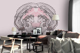 3D horse wings wall mural wallpaper 52