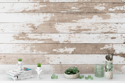 3D Board Wood Grain Wall Mural Wallpaper 165
