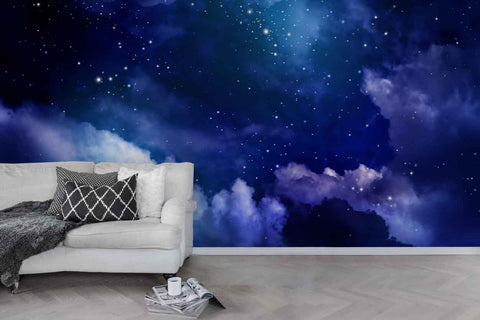 3D Nebula Starry Sky Universe Wall Mural Wallpaper 28