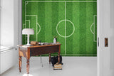 3D Green Football Field Grass Wall Mural Wallpaper 35 - Jessartdecoration