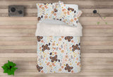 3D Butterfly Floral Leaves Branch Quilt Cover Set Bedding Set Pillowcases 41