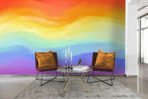 3D watercolor wall mural wallpaper 95