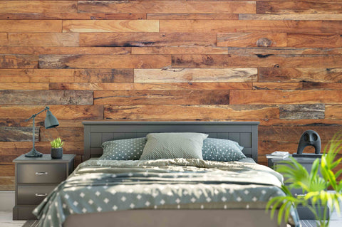 3D Wood Board Wall Mural Wallpaper 12