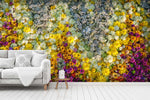 3D flower vine wall mural wallpaper 12