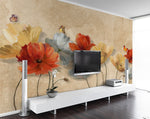 3D Oil Painting Floral Wall Murals 224