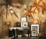 3D Coconut Tree Hazy 1231 Wallpaper Jess Art Decoration 2