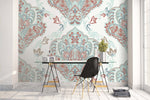 3D Green Art Pattern Wall Mural Wallpaper 77