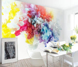 3D Color Ink 038 Wallpaper Jess Art Decoration