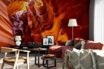 3D natural features rocks wall mural wallpaper 99