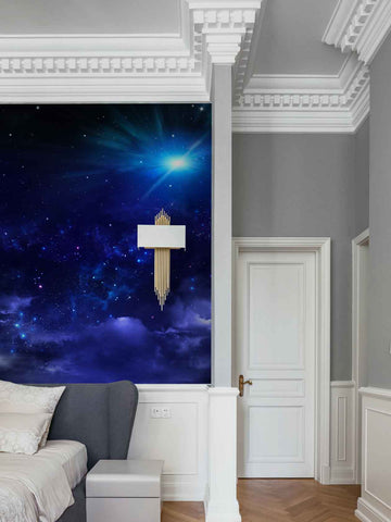 3D Nebula Star Sky Clouds Wall Mural Wallpaper 16