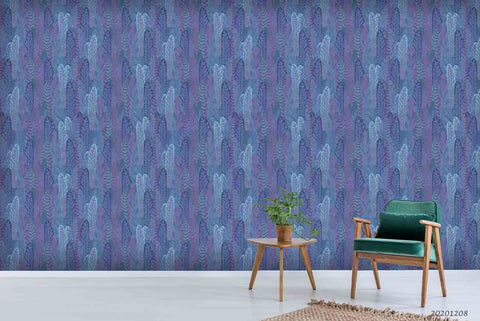 3D Hand Drawn Abstract Vintage Pattern Wall Mural Wallpaper LXL