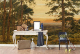 3D countryside scenery oil painting wall mural wallpaper 30