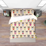3D Hand Drawn Animal Sheep Quilt Cover Set Bedding Set Duvet Cover Pillowcases 74