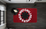 3D Red Hot Chili Peppers Rock Band Non-Slip Rug Mat 114