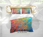 3D Abstract Color Oil Painting Quilt Cover Set Bedding Set Duvet Cover Pillowcases 69