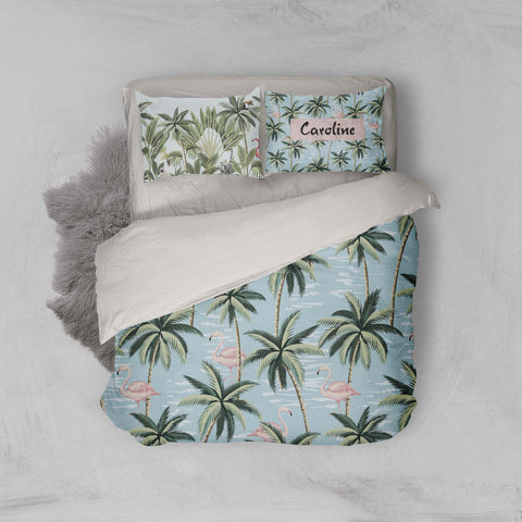 3D Tropical Coconut Tree Quilt Cover Set Bedding Set Pillowcases 30