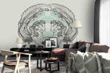 3D horse wings wall mural wallpaper 51