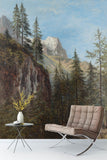 3D forest oil painting wall mural wallpaper 90