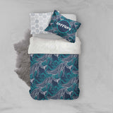 3D Abstract Floral Leaves Quilt Cover Set Bedding Set Pillowcases 99
