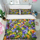 3D Wild Floral Quilt Cover Set Bedding Set Pillowcases 57