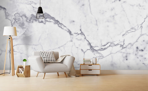 3D Grey Marble Texture Wall Mural Wallpaper 15