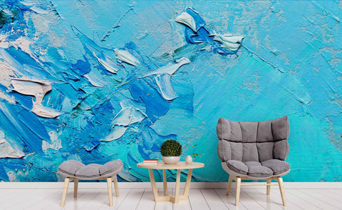 3D Abstract Oil Painting Wall Mural Wallpa 28