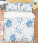 3D Colored Flowers Quilt Cover Set Bedding Set Pillowcases  10