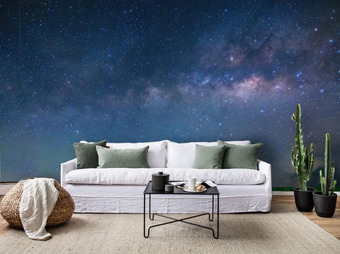 3D Starry Sky Wall Mural Wallpaper 46