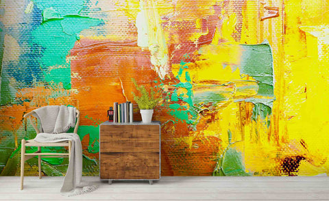 3D Abstract Oil Painting Wall Mural Wallpa 20