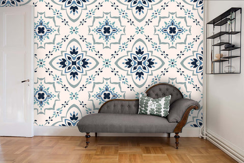 3D Ethnic Style Floral Wall Mural Wallpaper 41 - Jessartdecoration